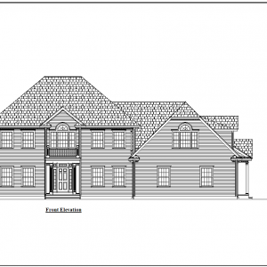 ss-8973cll-1 5 bedroom 5 bathroom colonial house plan