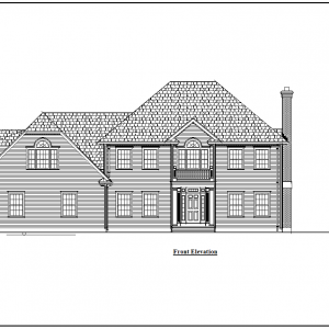ss-8974cll-1 5 bedroom 5 bathroom colonial house plan