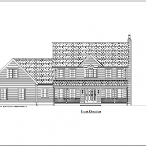 ss-8975cll-1 5 bedroom 3 bathroom colonial house plan