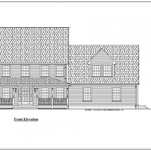 ss-9011cl-1 4 bedroom 3 bathroom colonial house plan