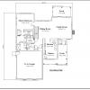 ss-9092ul-2 3 bedroom 2 bathroom unique house plan