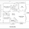 ss-9123u-2 4 bedroom 2 bathroom unique house plan