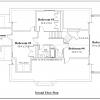 ss-9123u-3 4 bedroom 2 bathroom unique house plan