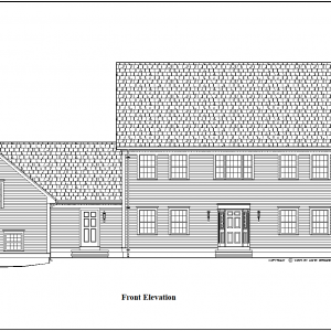 ss-9124cl-1 3 bedroom 3 bathroom colonial house plan