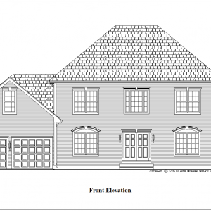 ss-9128cl-1 4 bedroom 2 bathroom colonial house plan
