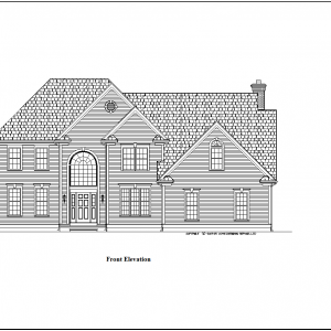 ss-9136cll-1 4 bedroom 3 bathroom colonial house plan