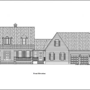 ss-9146cpl-1 3 bedroom 2 bathroom cape house plan