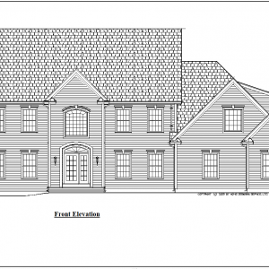 ss-9150cl-1 4 bedroom 3 bathroom colonial house plan