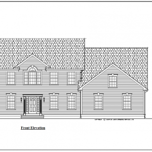 ss-9157cl-1 4 bedroom 2 bathroom colonial house plan