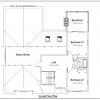 ss-9197u-3 3 bedroom 2 bathroom unique house plan