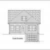 ss-9221cp-1 3 bedroom 2 bathroom cape house plan