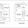 ss-9221cp-2 3 bedroom 2 bathroom cape house plan