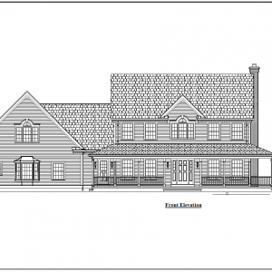 ss-9283cl-1 5 bedroom 4 bathroom colonial house plan