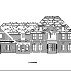 ss-7566cll-1 4 bedroom 2 bathroom colonial house plan