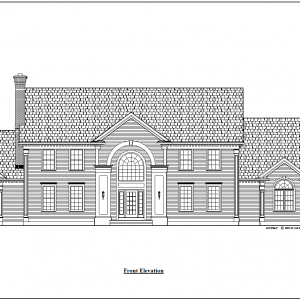 ss-7787cll-1 4 bedroom 3 bathroom colonial house plan