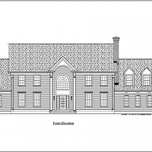 ss-8001cll-1 4 bedroom 3 bathroom colonial house plan