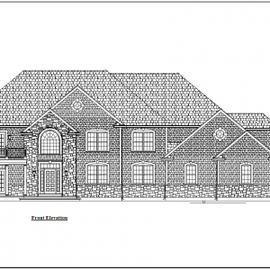 ss-8345cll-1 3 bedroom 3 bathroom colonial house plan