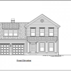 ss-8526cl-1 4 bedroom 2 bathroom colonial house plan