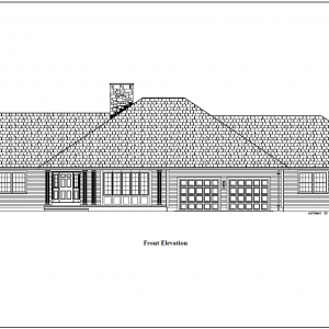 ss-8757rl-1 4 bedroom 3 bathroom ranch house plan