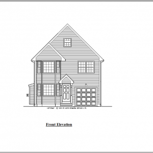 ss-9148cl-1 4 bedroom 2 bathroom colonial house plan