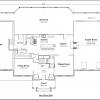ss-9518cll-2 4 bedroom 2 bathroom colonial house plan