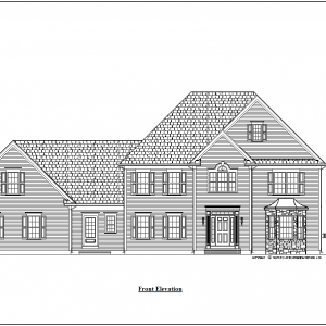 ss-9609cll-1 4 bedroom 3 bathroom colonial house plan