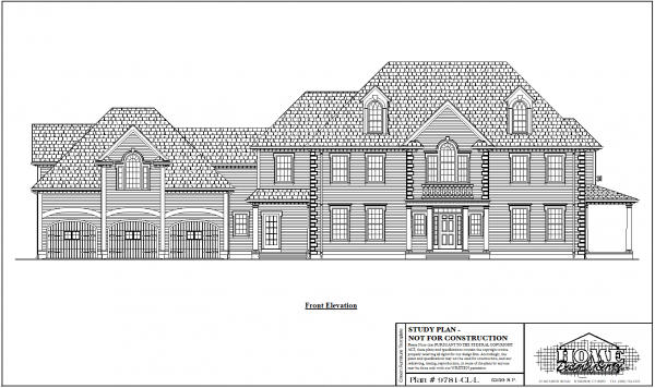 ss-9781cll-1 4 bedroom 4 bathroom colonial house plan