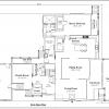 ss-9861ul-2 4 bedroom 3 bathroom unique house plan