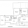 ss-9861ul-3 4 bedroom 3 bathroom unique house plan