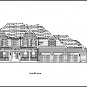 ss-9938cl-1 5 bedroom 3 bathroom colonial house plan