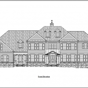 ss-9950cll-1 5 bedroom 4 bathroom colonial house plan