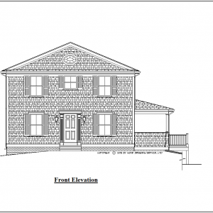 ss-9955cl-1 3 bedroom 2 bathroom colonial house plan