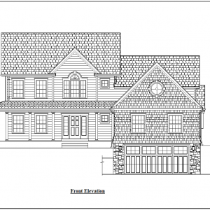 ss-9980cl-1 4 bedroom 4 bathroom colonial house plan