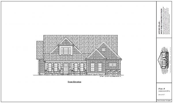ss-10010cpl-1 4 bedroom 3 bathroom cape house plan