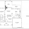 ss-10010cpl-2 4 bedroom 3 bathroom cape house plan