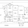 ss-7566cll-2 4 bedroom 2 bathroom colonial house plan