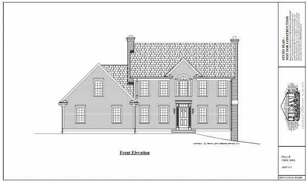 ss-7691sbl-1 4 bedroom 2 bathroom saltbox house plan