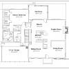 ss-7691sbl-6 4 bedroom 2 bathroom saltbox house planss-7691sbl-6 4 bedroom 2 bathroom saltbox house plan