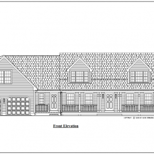 ss-8716cp-1 4 bedroom 2 bathroom cape house plan