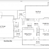 ss-8716cp-2 4 bedroom 2 bathroom cape house plan