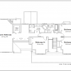 ss-8716cp-3 4 bedroom 2 bathroom cape house plan