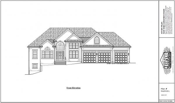 ss-9429rl-1 3 bedroom 2 bathroom ranch house plan
