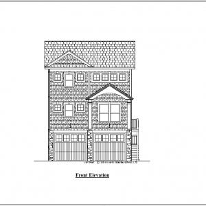 ss-9857u-1 2 bedroom 2 bathroom unique house plan